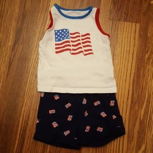 Merica' Jumping Beans Matching Outfit